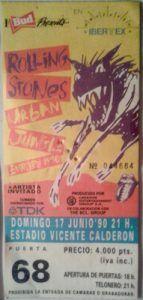 Rock Internacional-4-Rolling Stones-Entrada Concierto