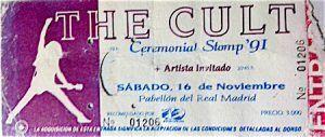 Coleccion discos de Vinilo-ElCoyote-Capitulo 2-Parte 1-The Cult-Entrada-Vinilo Coleccion