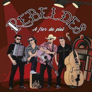 Los Rebeldes-A Flor de Piel-Presentacion disco-Vinilo Coleccion