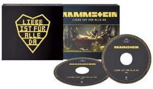 Rammstein-Liebe Ist Für Alle Da-Baul Edicion de Lujo-Rarezas-Vinilo Coleccion