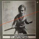 21 japonesas-hombre de la selva-grupos españoles-3-vinilo coleccion