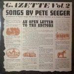 pete serger-gazette-country rock-folk-vinilo coleccion