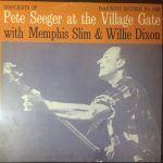 pete seeger village gate-country rock-folk-vinilo coleccion