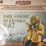 jarcha-en el nombre de españa paz-grupos españoles-1-vinilo coleccion