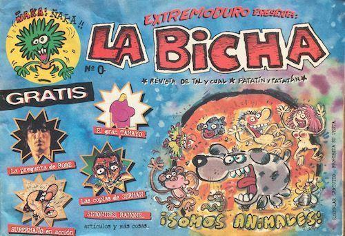 extremoduro-la bicha-grupos españoles-1-vinilo coleccion